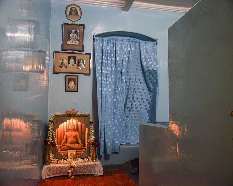 Yogananda's Family Home Attic Meditation Room