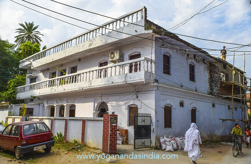 House where Yogananda was born January 5, 1893 in Gorakhpur.
