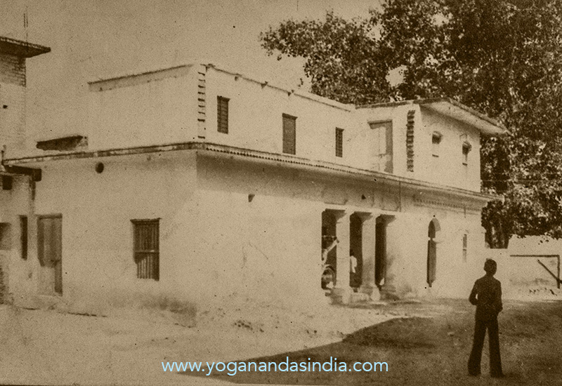 Old photo of Yogananda's family home provided by Shaikh Abdul Raheem.