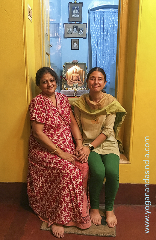 At the family home of Yoganadaji in Kolkata, Sarita Ghosh continues to maintain his attic room as a shrine and is a gracious host to devotees who wish to visit and meditate in Master's private sanctuary. We had the great blessing of sitting in his spiritually charged space for some time, bathed in feelings of his divine presence.