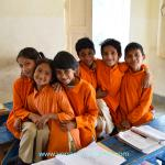 These beautiful children will have a better future because YSS is teaching them.