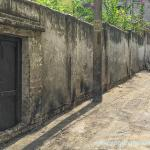 In the rear wall of the ashram grounds is the back door that Yoganandaji had forgotten to lock in the story of The Cauliflower Robbery in his Autobiography of a Yogi.